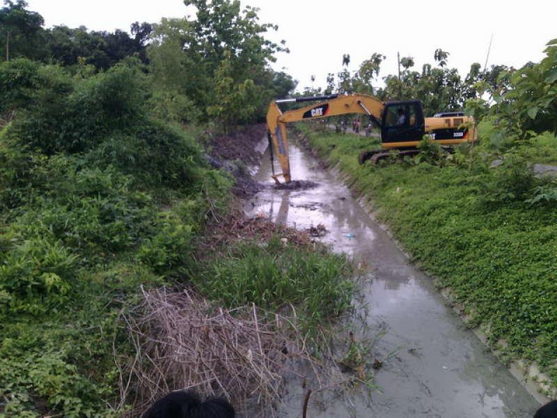 Cegah Banjir Dinas Pengairan Tawarkan Normalisasi Saluran Air