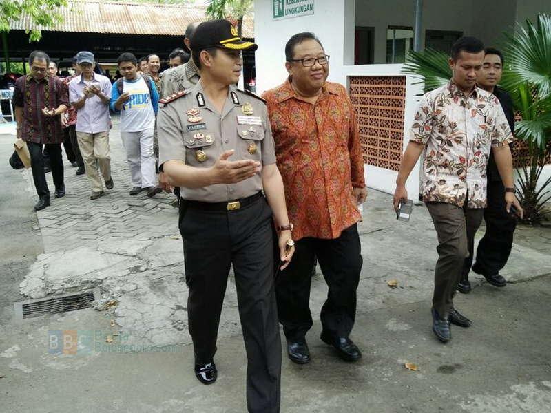 Polres Bojonegoro Lakukan Pengamanan Kunjungan Kerja Menteri Koperasi