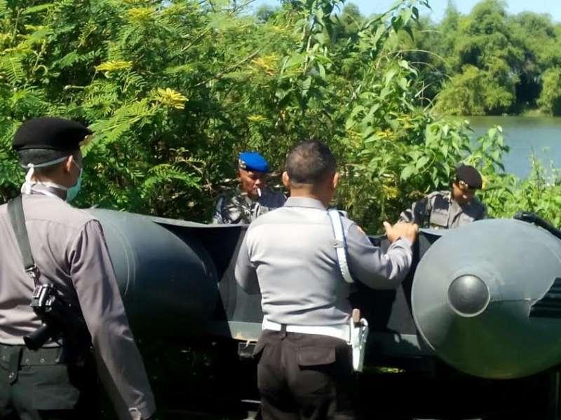 Polres Bojonegoro Gelar Operasi Tambang Pasir Ilegal di Desa Brenggolo Kalitidu
