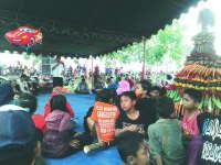 Kuswiyanto Ikut Kirab Gunungan 3 Kilometer di Dusun Wireh