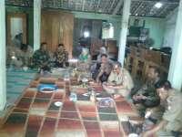 Kapolsek Kanor Hadiri Pertemuan Kepala Desa se-Kecamatan