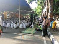 Gema Dzikir dan Doa di Alun-Alun Bojonegoro, Polisi Kawal Hingga Bubar