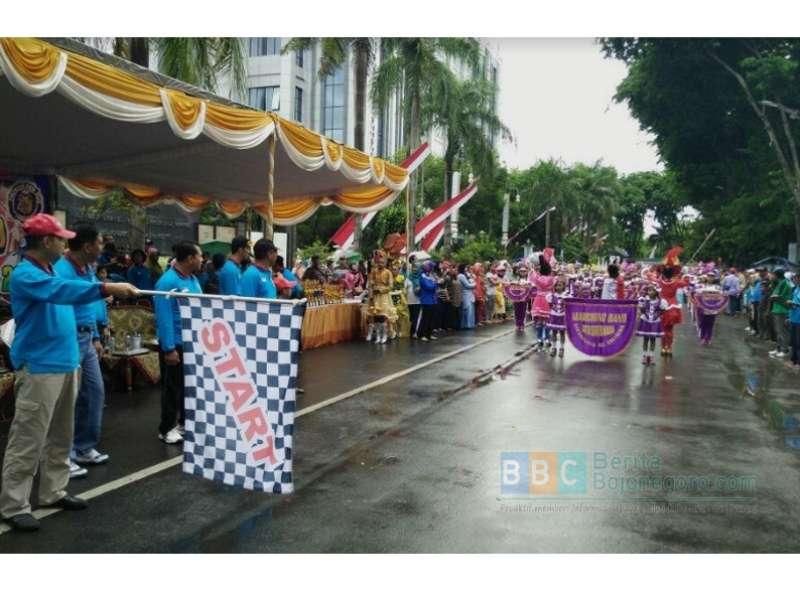 Kirab Drum Band PDBI Tahun 2016