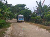 Warga Kampungbaru Tuntut Perbaikan Jalan Akibat Proyek Gedung Pusdiklat