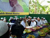 Maulid Akbar dan Pembacaan Diba' Bersama Habib Ahmad Alaydrus