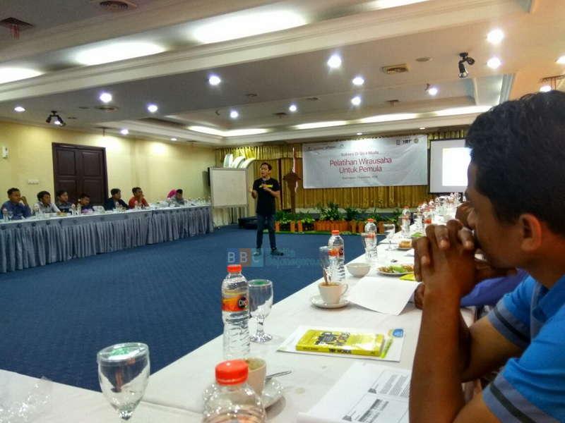 40 Pemuda Gayam Asah Jiwa Wirausaha Bersama PT Inspirasi Nusantara