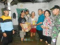 Kuswiyanto Bagikan Bantuan Korban Banjir di Kalitidu