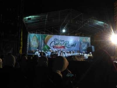 Ribuan Masyarakat Bojonegoro Habiskan Malam Pergantian Tahun Dengan Selawat
