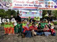 Minggu Pagi Bersama Pekan Ceria Kampung Dongeng di Taman Rajekwesi