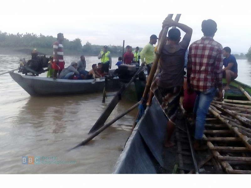 Seorang Pencari Ikan di Soko Tenggelam di Bengawan Solo