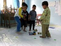 Ingin Anak-Anak Bojonegoro Tidak Hanya Konsumtif, Tapi Juga Bisa Merakit Robot