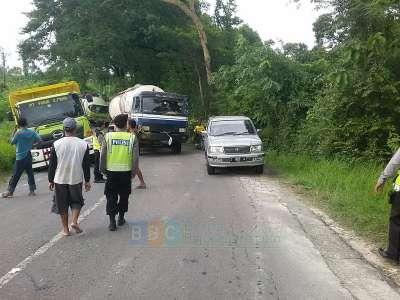 Truk Rusak di Watu Jago, Polisi Pantau Kelancaran Lalu Lintas