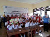 Gemar Membaca Bersama PEPC Digelar di Tiga Sekolah