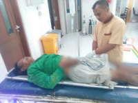 Seorang Kakek Jadi Korban Tabrak Lari di Baureno