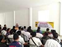 Polres Bojonegoro Sosialisasikan Jaminan Fidusia Pada Karyawan Adira Finance