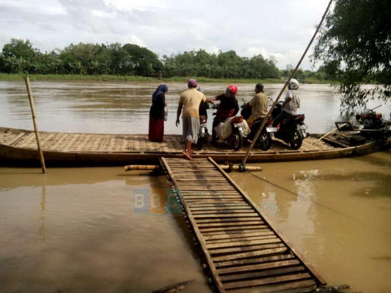 Bojonegoro Kota Kembali Masuk Status Dibawah Siaga, Banjir Bengawan Solo