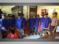 Polres Bojonegoro Titipkan Sembilan Tahanan ke Lapas