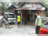 Diduga Mengemudi Dalam Keadaan Mabuk, Pikap Tabrak Toko di Ngraho