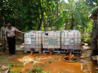 Polsek Semanding Berhasil Amankan 25.800 Liter Miras