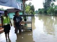Ini Update Situasi Banjir Luapan Kali Kening yang Melanda 6 Desa di Parengan