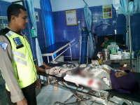 Seorang Nenek Terluka Usai Tersenggol Rombong Penjual Jangkrik