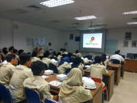 Ratusan Mahasiswa ITS Kunjungi Lapangan Migas Banyu Urip EMCL