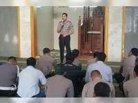 Kapolres Bojonegoro Ajak Anggota Jadikan Pekerjaan Sebagai Sarana Ibadah