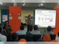 Kapolres Sosialisasikan Aplikasi CAS di Bank BNI 46 Cabang Bojonegoro