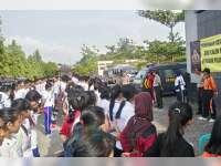 Kapolres Beri Motivasi Pada Calon Peserta Sekolah Inspektur Polisi Sumber Sarjana Tahun 2017