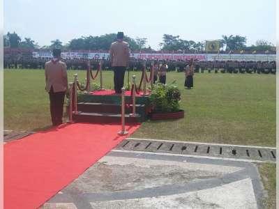 Foto Apel Besar Saka Bhayangkara di Stadion Letjend H Soedirman
