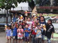 Kenalkan Budaya Indonesia Melalui Kegiatan Mewarnai Wayang Kertas
