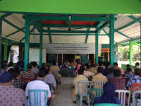 EMCL Sosialisasi Peningkatan Kualitas Jalan Lapangan Minyak Kedungkeris