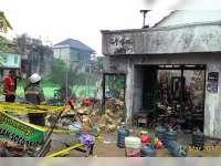 Kebakaran Rumah Toko di Jenu, Kerugian Diperkirakan Capai Rp 100 Juta