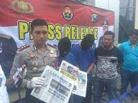 Peras Kades Pejok Ratusan Juta, Dua Oknum Wartawan Diringkus Polisi