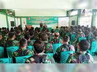 Kodim 0813 Gelar Sosialisasi Pentingnya Komunikasi yang Baik untuk Prajurit