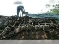 Dua Rumah Warga di Baureno Rusak Diterjang Puting Beliung