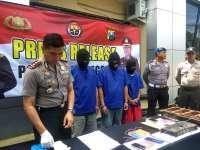 Polres Bojonegoro Amankan 3 Pelaku  Penadah Kendaraan Roda Empat