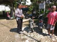 Pelajar Kecelakaan di Pertigaan Pasar Trenggulungan Ngasem