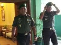 Jabat Pangdam, Mayjen TNI Kustanto Widiatmoko Fokuskan Dua Program