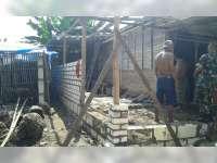 Menilik Program Renovasi Rumah Tidak Layak Huni Kodim 0813