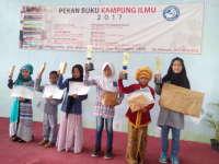 35 Anak SD/MI Ikuti Lomba Baca Puisi Pekan Buku Kampung Ilmu 2017