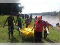 Mayat Tanpa Identitas Ditemukan di Bantaran Sungai Bengawan Solol, Kecamatan Rengel