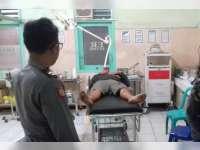 Scoopy Seruduk Becak di Kapas, 3 Orang Alami Luka-luka