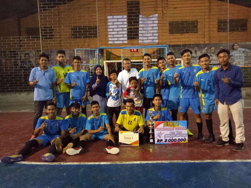 24 Tim Fustal Tingkat SMA Ikuti Kejuaraan Futsal Antar Pelajar