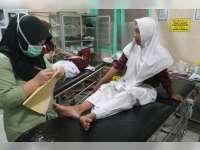 Diduga Kurang Konsentrasi, Vario Tubruk Mio, 2 Orang Terluka