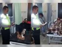 RX King Tabrak Supra Fit di Kalitidu, Dua Pengendara Sama-Sama Terluka