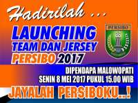 Launching Tim dan Jersey Persibo