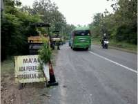 Jalan Nasional Kawasan Hutan Cepu - Blora Mulai Mulus