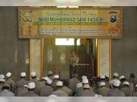 Peringati Isra' Mi'raj, Kapolres Bojonegoro Ajak Anggota Tingkatkan Keimanan