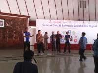 Bupati Suyoto Jadi Narasumber di Seminar Cerdas Bermedia Sosial
